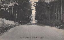 Oka Quebec Canada c1910 Postcard Route Conduisant Au Golf