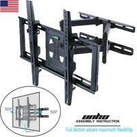 """UNHO Articulating TV Wall Mount Full Motion Support 32-56"""" For Samsung LG Sony"""