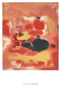 MARK ROTHKO Phases 39.25 x 27.5 Poster 2015 Red