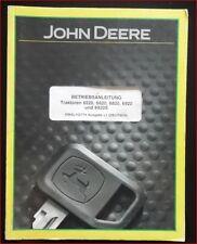 John Deere Traktoren 6520 , 6620 , 6820 , 6920 , 6920 S Betriebsanleitung