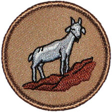 Cool Boy Scout Patches- Goat Patrol! (#208)