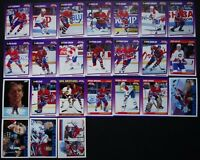 1991-92 Score American Montreal Canadiens Team Set 25 Hockey Cards W/ Traded