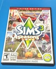 Sims 3: Seasons Limited Edition (Windows/Mac)(COMPLETE)(VG CONDITION)