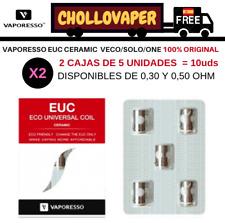 2 Cajas Resistencias VAPORESSO EUC COIL CERAMIC Original - Veco/Solo/One