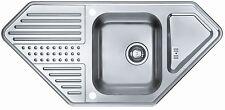 Alveus Corner Sink Pixel 70 Inbuilt sink 1090x520mm Kitchen sink sink 1085971-J