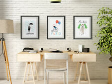 Ikea Thrilling 3 NEW Posters Paris New York London  - Nicole Thompson