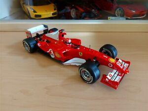 FERRARI F1 F2004 M. SCHUMACHER - Hotwheels 1/18