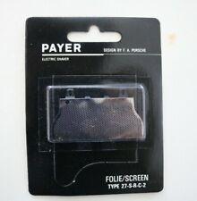 Payer Scherfolie / Scherblatt Type 27-S-R-C-2 DESING BAY F.A. PORSCHE       (20)