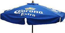 CORONA EXTRA 7 foot BEER PATIO UMBRELLA MARKET STYLE HUGE CORONA MODELO NEW
