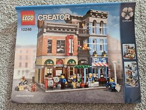 Lego 10246 Detectives Office Building Instructions Manual only