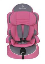 Seguro Bebe Lima Group 1,2,3, 2nd Stage Baby Car Seat - Pink on Grey