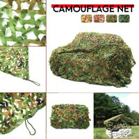 Woodland Leaves Camouflage Camo Net Army Netting Camping Military Hunting Cover