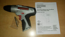 """*NEW* CRAFTSMAN NEXTEC 12V 3/8"""" 2 SPEED DRILL 320.10003 BARE TOOL ONLY"""