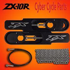 """2004-2010 Kawasaki Ninja ZX-10R 4 1/2 to 9"""" Bolt on Swing Arm Extension Kit"""