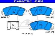 ATE Bremsbeläge VA für HYUNDAI H-1 Cargo Travel; KIA CARNIVAL /