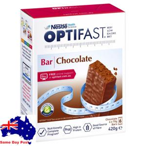 OPTIFAST VLCD CHOCOLATE BAR 6 X 70G