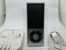 Apple iPod Nano 5. Generation Silber Silver 8GB 5G 5th NEW NEU TOP