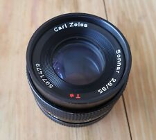ZEISS Contax Sonnar T 85mm f/2.8 CS Lens For Contax/Yashica