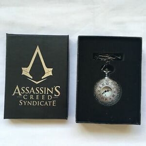 """Assassin's Creed Syndicate Pocket watch Collector Official """"NEW"""" RARE"""