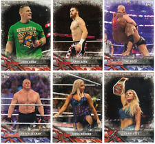 2017 Topps WWE Road To Wrestlemania Wrestling - Base Cards - Pick From #'s 1-100