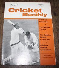 Playfair Cricket International - June 1971 - India Beats West Indies