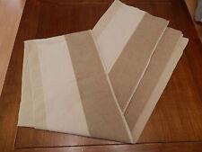 1 double rideau 2,60x1,35m 100% coton état impeccable