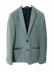 • Burton Men's Blazer • Size 36R • Grey Smart Jacket • Office • Dress Up •