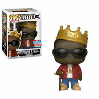 Notorious B.I.G. NYCC Funko Pop Vinyl New in Mint Box + Protector