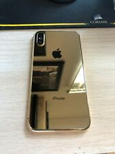 IPhone X 24k Gold Plated Housing