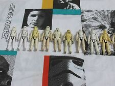 1977 1980 Vintage Star Wars STORMTROOPER & Snow HOTH ARMY LOT Action Figures