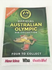 Official Australian 2016 Olympic Pin Collection Athletics