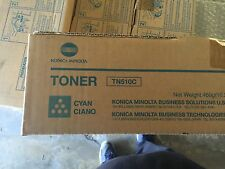 Konica Minolta Toner Set type TN-510 (Black,Yellow,Magenta,& Cyan)