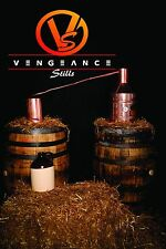 5 Gallon Copper Whiskey Moonshine Still  with Worm from Vengeance Stills