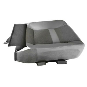 Gray Left Driver Seat Bottom Cover Replacement For 2006-2010 Dodge Ram 2500 3500