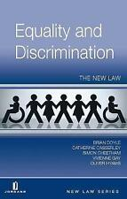 Equality and Discrimination: The New Law (New Law Series) by Doyle, Brian, Cass