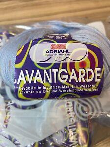Avantgarde Classic By Adriafil 3ply Yarn 100% Wool 2 X 50g Balls
