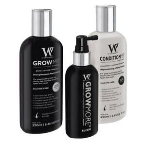 Best Hair Loss Treatment For Women & Men. Shampoo, Conditioner & Scalp Elixir