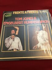 Frente A Frente Tom Jones & Engelbert Humperdinck Vinyl LP