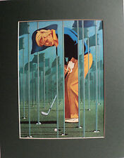 Matted Sports Photo - Jack Nicklaus - Golf's Greatest Player - 11x14