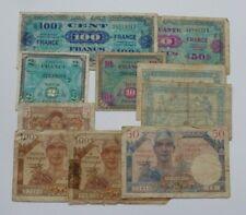 Lot 10 Billets FRANCE