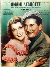 CINEMA ILLUSTRAZIONE SUPP. N.7 1933 AMAMI STANOTTE CHEVALIER JEANETTE MAC DONALD