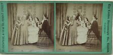 Scène de genre UK London Stereoscopic Co Photo Vintage Stereo Albumine