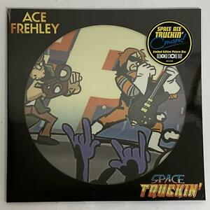 """ACE FREHLEY – SPACE TRUCKIN' BLACK FRIDAY PICTURE DISC 12"""" VINYL SINGLE (SEALED)"""