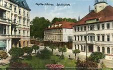 Czech Austria Teplice Teplitz - Schillerplatz 1927 postcard