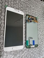 New White Samsung Galaxy S5 G900A LCD Screen Digitizer Home Adhesive - Light SBI