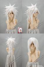 Naruto Jiraiya Anime Cosplay Costume Wig +Free Cap +free Track number