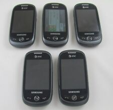 5 Samsung SGH-A927 Flight II AT&T Cell Phone Lot Touch + Wall Chargr