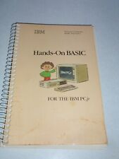 IBM Hands-On Basic For PC jr Guide Book Manual 1983 Vintage