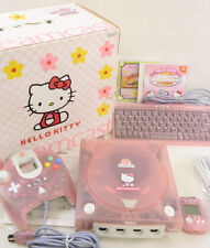 Dreamcast DC HELLO KITTY PINK Console System Boxed NEAR MINT SEGA 019015049693