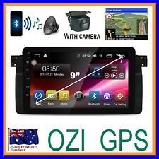 "BMW 3 SERIES E46 10"" GPS BLUETOOTH HEAD UNIT APPLE CARPLAY ANDROID AUTO CAMERA"
